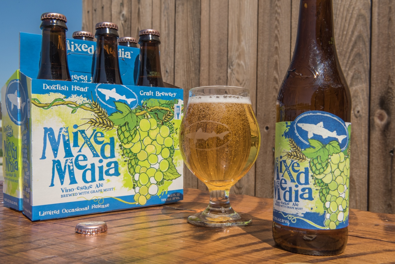 Dogfish head unveils mixed media for Craft beer vs microbrew