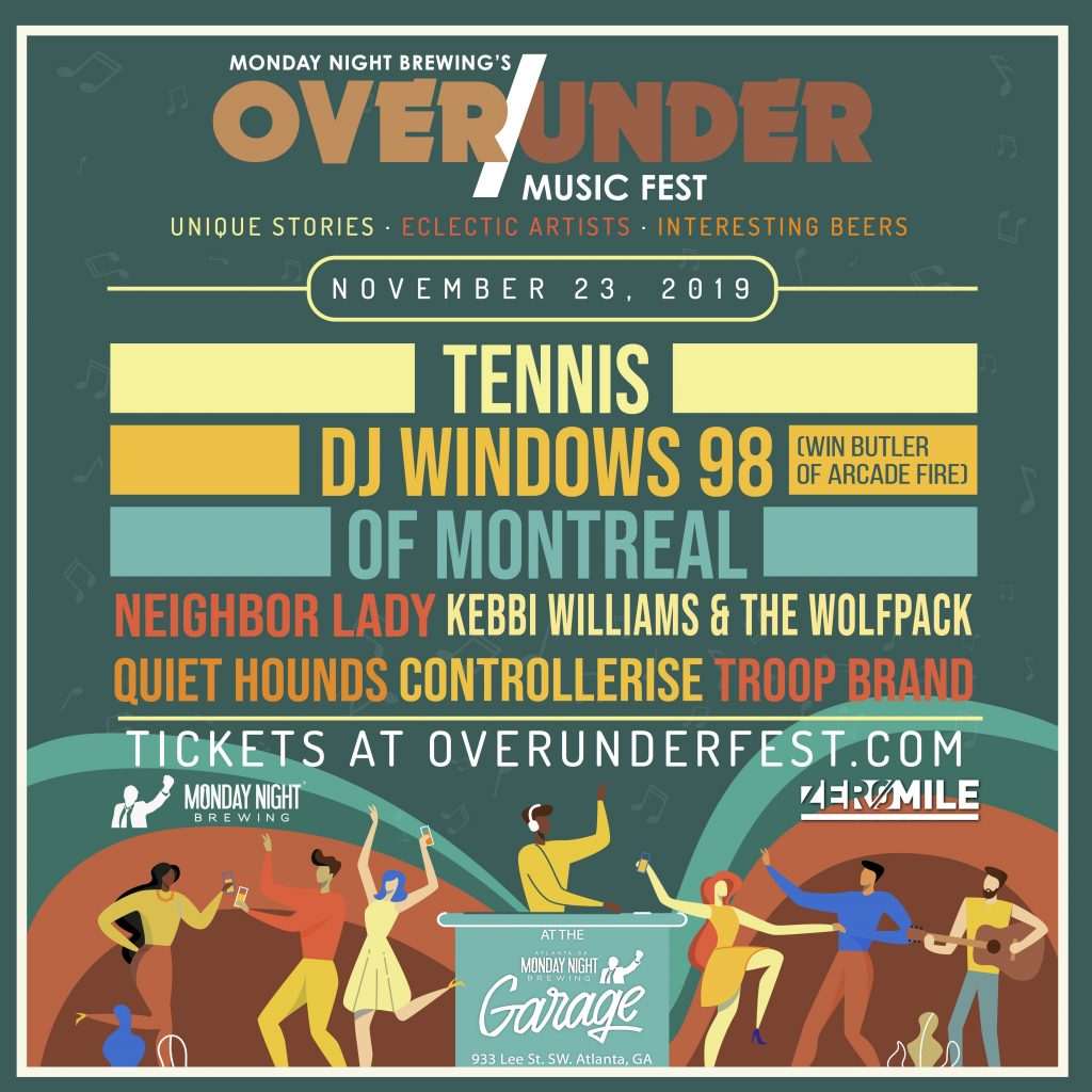 Monday Night Brewing Over Under Fest