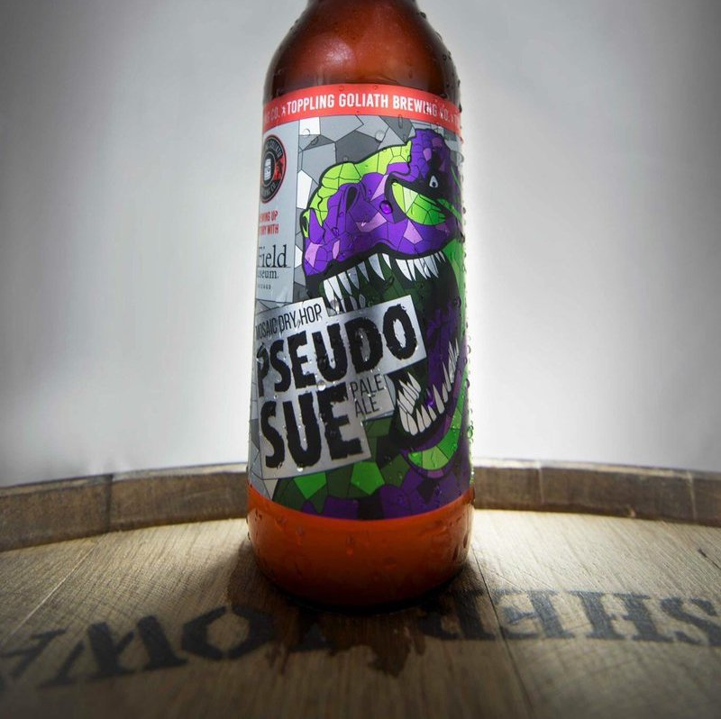 Toppling Goliath Mosaic Double Dry Hopped Pseudo Sue U2013 PseudoSue Is An  Undeniably Spectacular Beer, Worthy Of All The Hype And Enthusiasm That  Surrounds It.