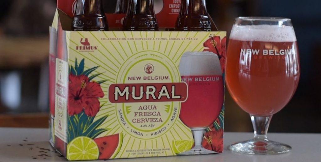 New Belgium - Mural Agua Fresca Cerveza