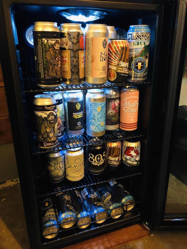 New Air Beer Fridge