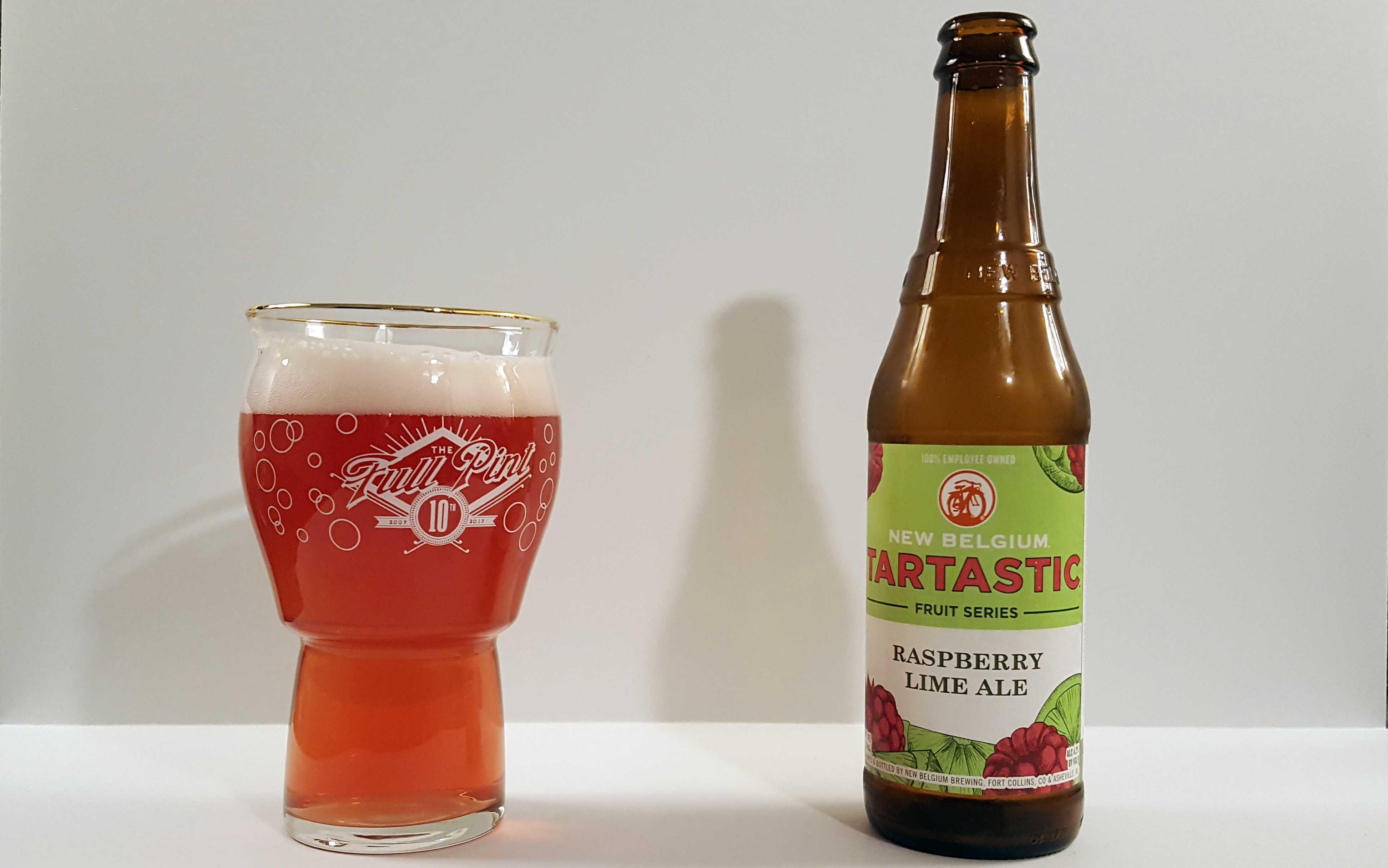 New Belgium Tartastic Raspberry Lime Ale