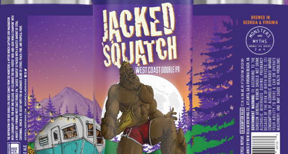 New Realm Jacked Squatch