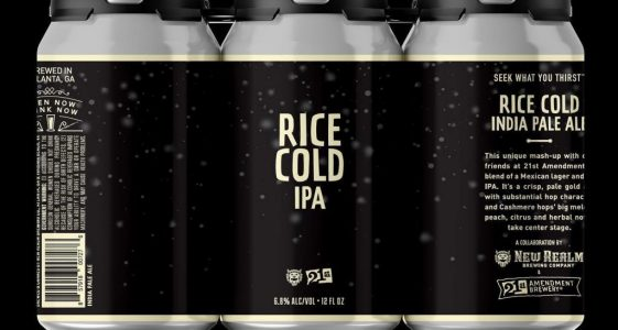 New Realm Rice Cold IPA