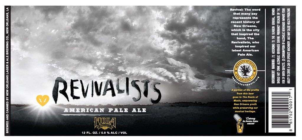 Nola Brewing - Revivalists American Pale Ale