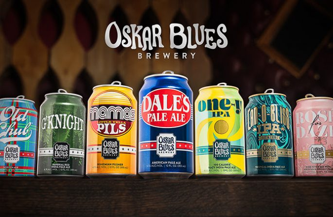 Oskar Blues Cans 2020