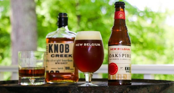New Belgium Brewing and Knob Creek® - Oakspire Bourbon Barrel Ale