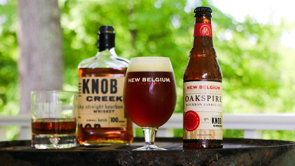 New Belgium Brewing and Knob Creek® - Oakspire Bourbon Barrel Ale
