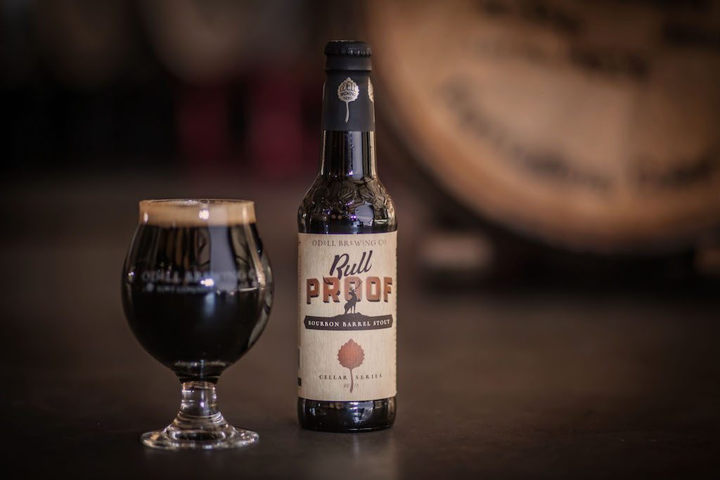 Odell Brewing Bull Proof