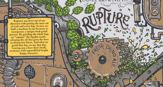 Odell Brewing Rupture