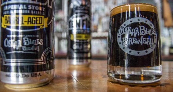 Oskar Blues Barrel-Aged Ten FIDY