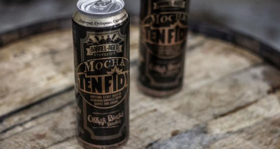 Oskar Blues Bourbon Barrel-Aged Mocha Ten FIDY Imperial Stout