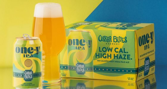 Oskar Blues One-y Hundred Calorie Hazy IPA