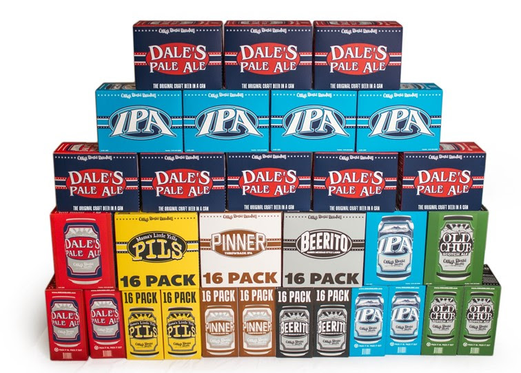 Oskar Blues Packaging 2018