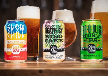Oskar Blues Slow Chill Death By King Cake Double CAN O BLISS