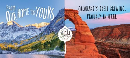 Odell Brewing Expands West to Utah