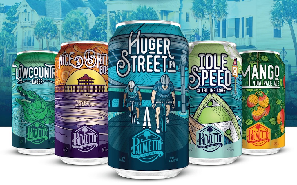 Palmetto Brewing Cans 2019