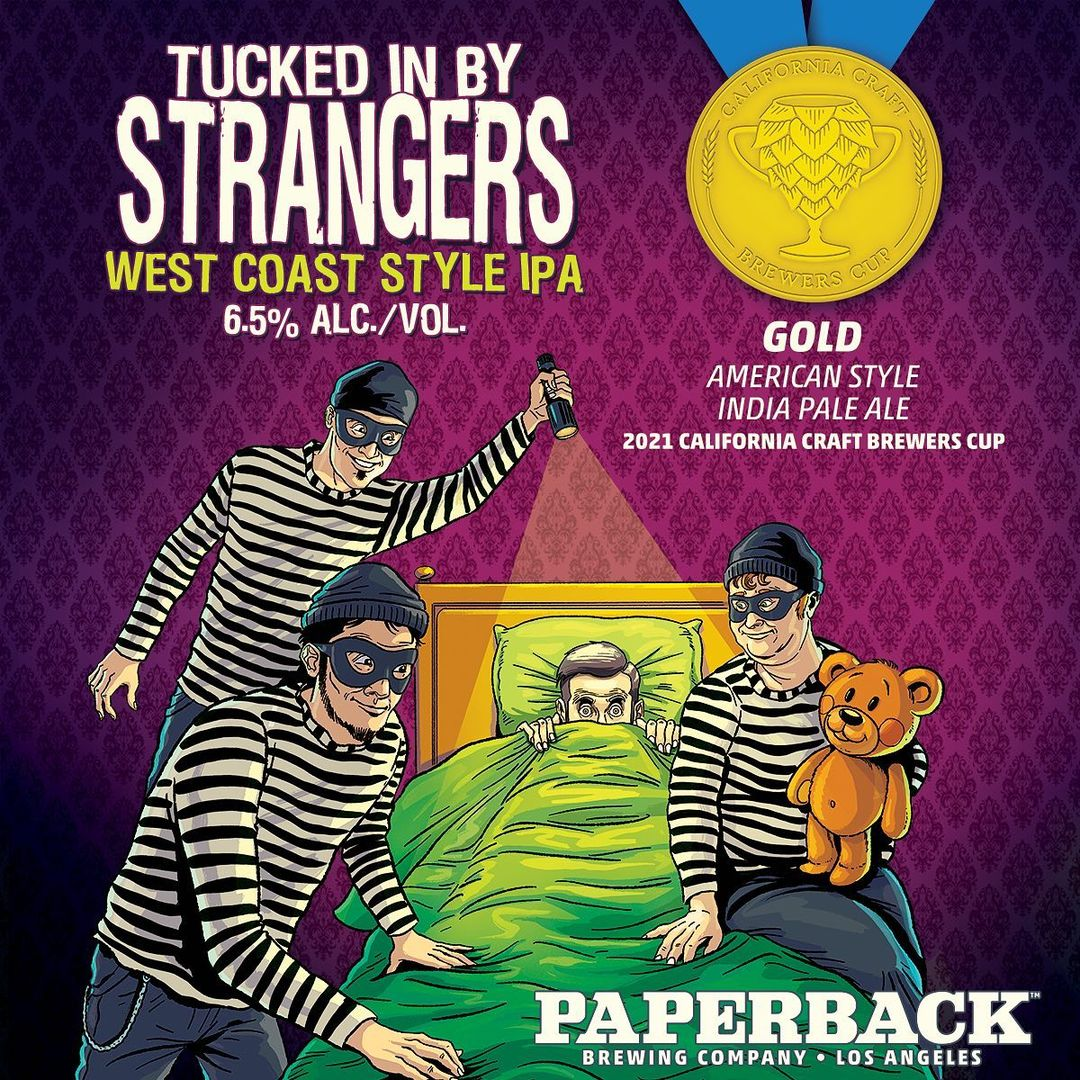 Paperback Brewing Wins IPA Gold for Tucked in By Strangers thumbnail