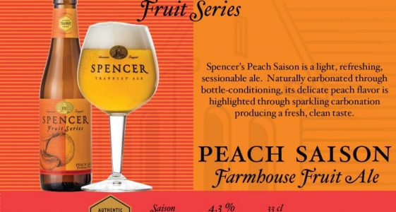 Spencer Brewery - Peach Saison