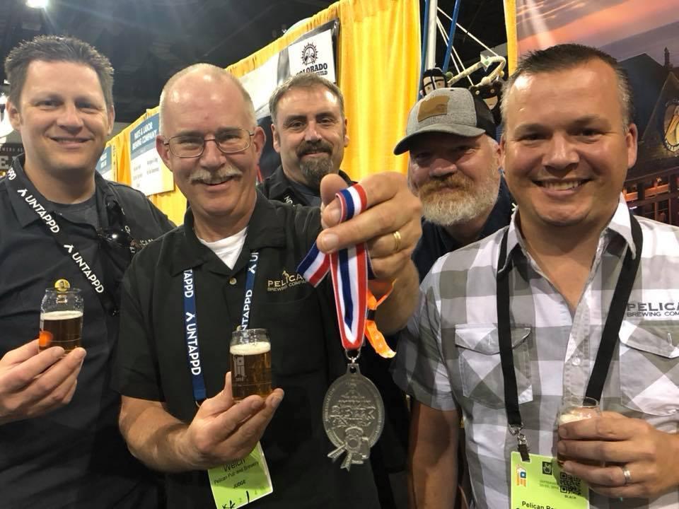 Pelican Brewing GABF 2018