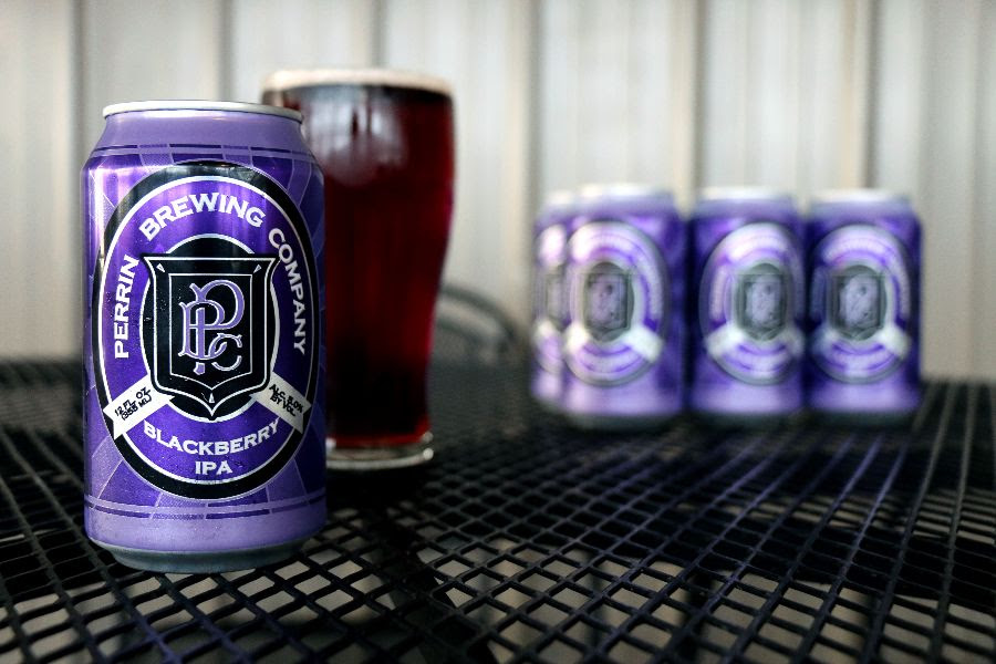 Perrin Brewing Blackberry IPA
