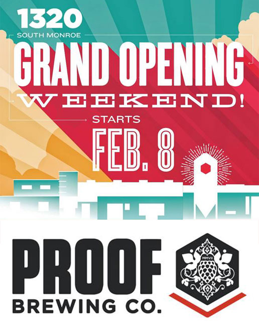 Proof Brewing Grand Opening