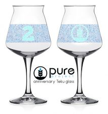 Pure Project 2nd Anniversary Teku Glass