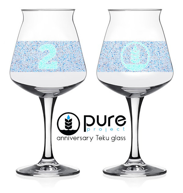 Pure Project 2nd Anniversary Teku Glass