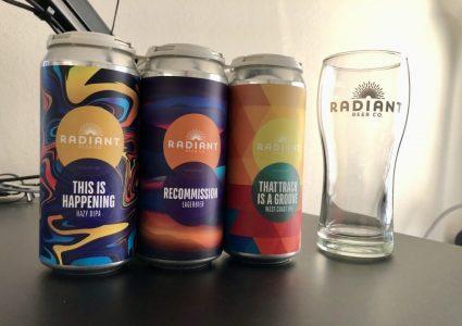 Radiant Beer Company Beers