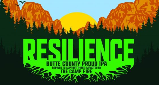 Resilience IPA - Brewed to support those impacted by The Camp Fire