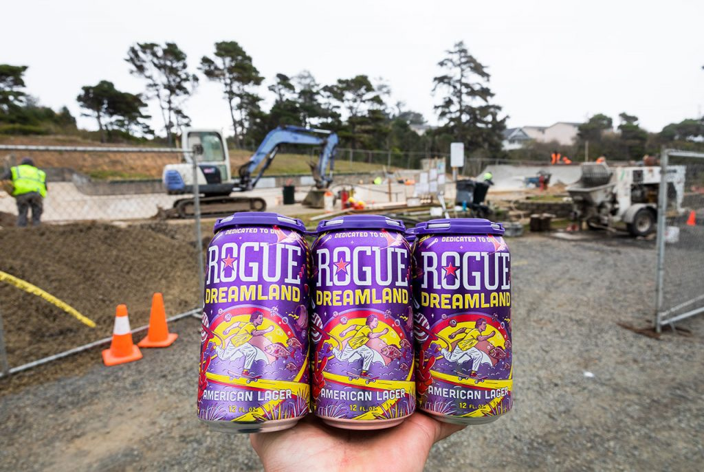 Rogue Beer - Dreamland American Lager - Newport Skatepark