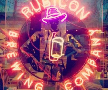 Rubicon Brewing Logo Neon