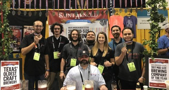 Saint Arnold 2018 GABF