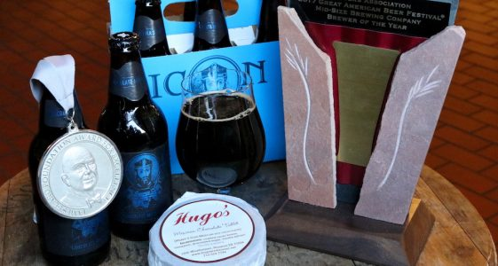 Saint Arnold Icon Blue Chocolate Milk Stout