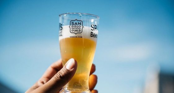 San Diego Beer Glass