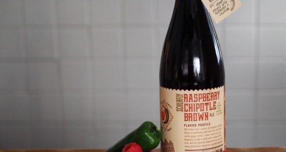 Schlafly Raspberry Chipotle Brown Ale