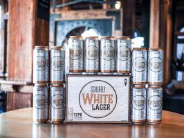Schlafly White Lager 16 oz. can