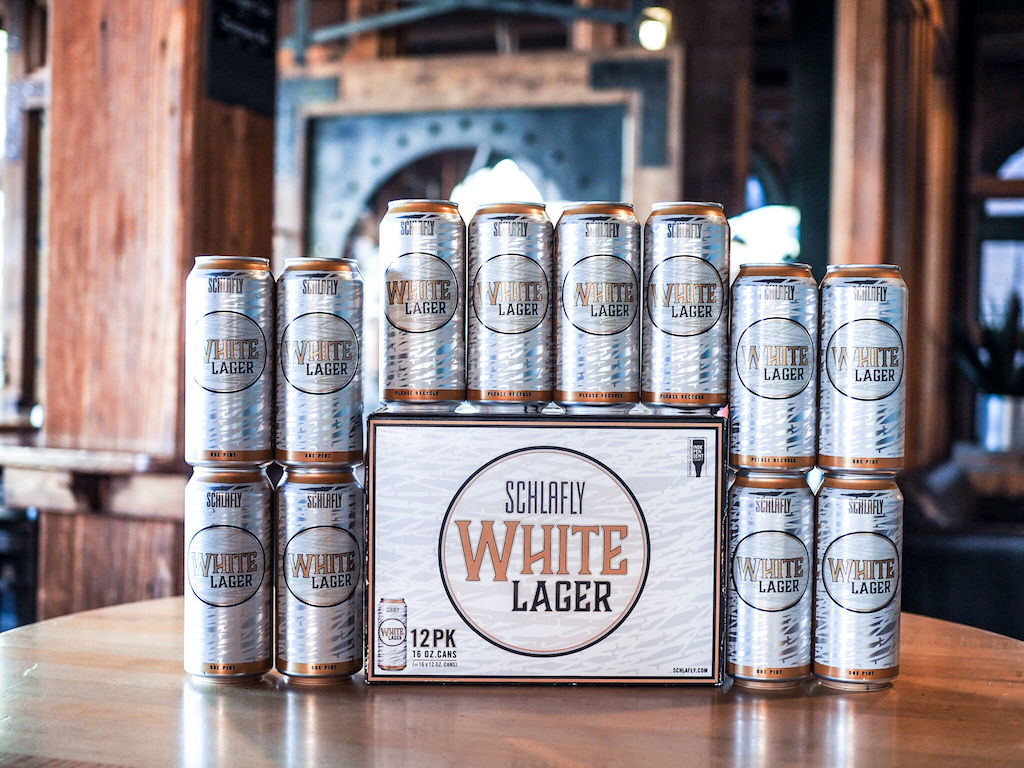 Schlafly Beer Set Release Its First 12 Pack of 16 oz  Cans