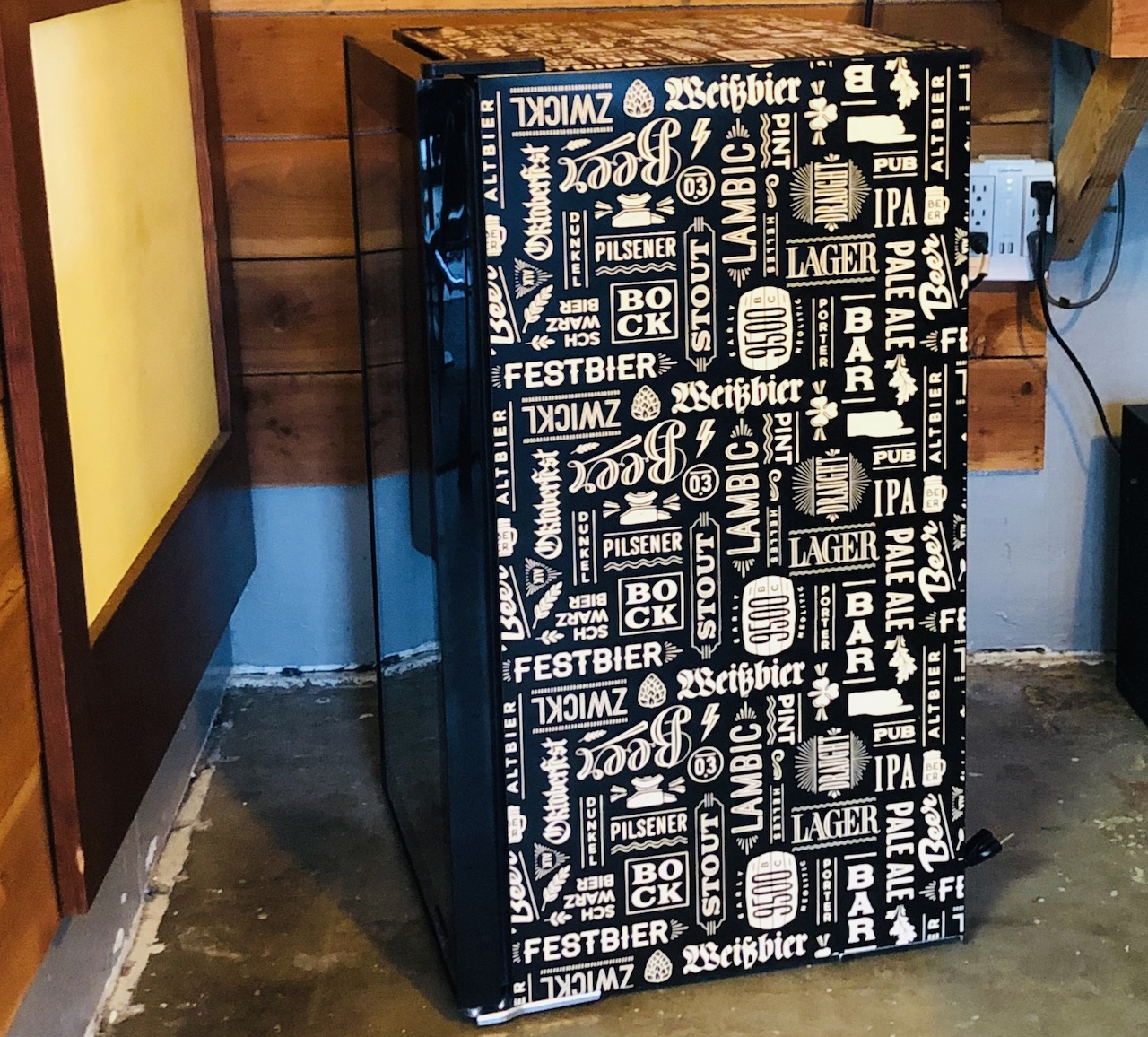 Side View New Air Fridge
