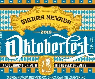 Sierra Nevada Octoberfest 2019 Label