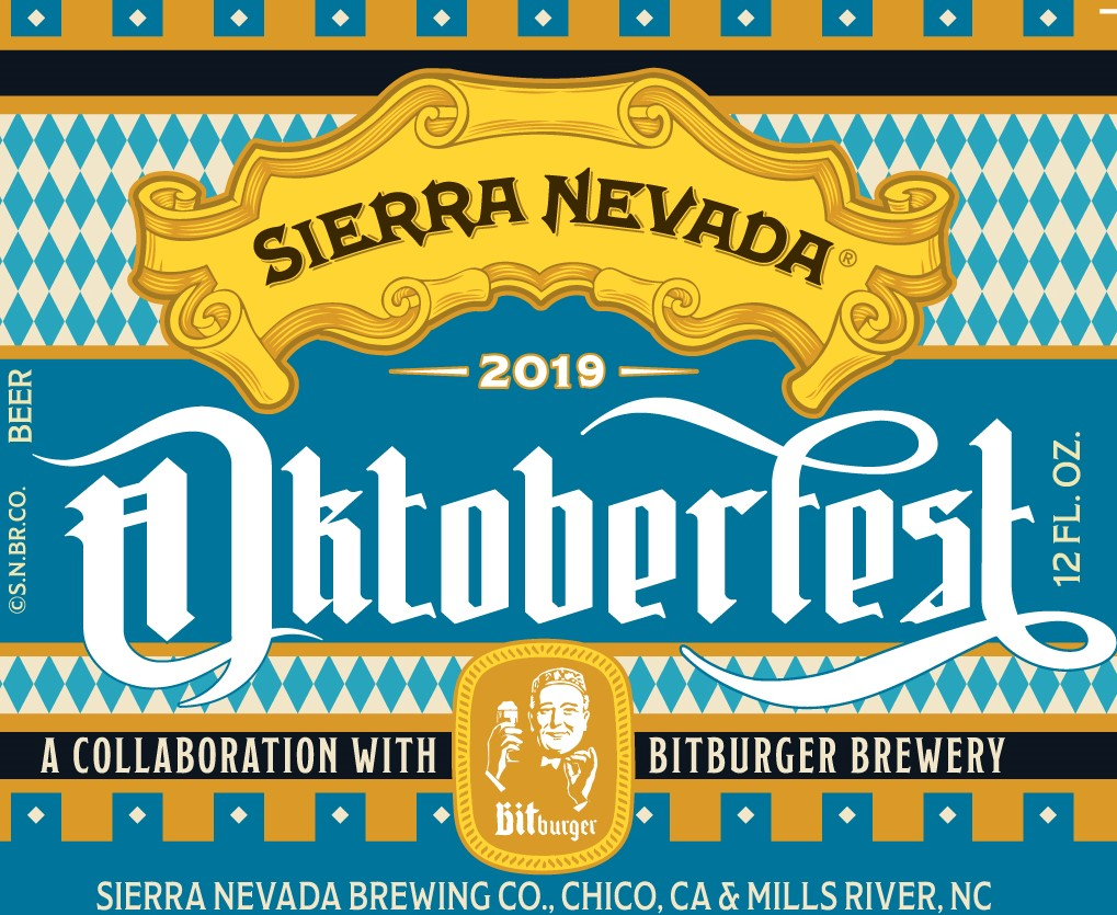 Sierra Nevada Octoberfest 2019 Label