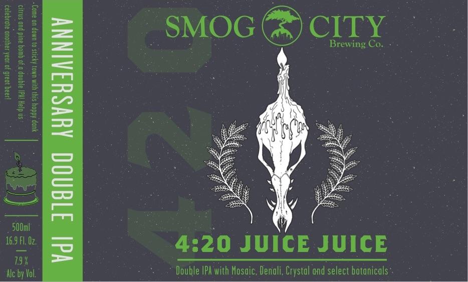 Smog City 420 Juice
