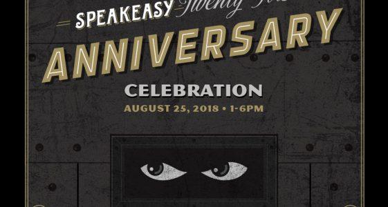 Speakeasy 21 Anniversary