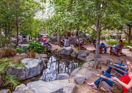 Stone Brewing Escondido Garden Stream