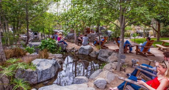 Stone Brewing Escondido Garden Stream