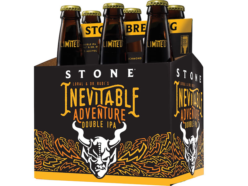 Stone Loral & Dr. Rudi's Inevitable Adventure Double IPA