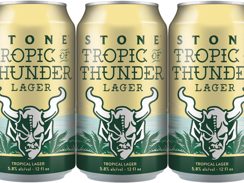 Stone Tropic of Thunder Lager