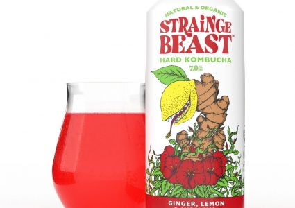 Sierra Nevada & Chico Fermentation Project - Strainge Beast Hard Kombucha