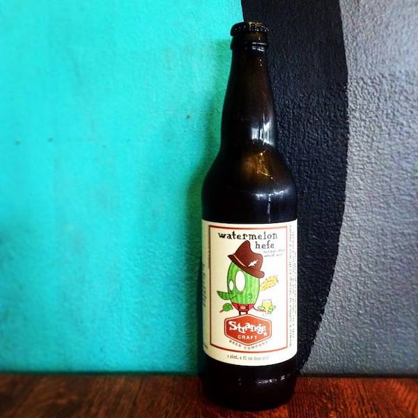 Strange craft beer watermelon hefe returns for Strange craft beer company