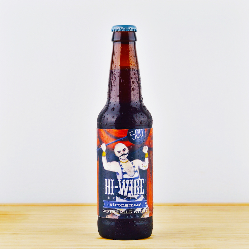 Hi-Wire Brewing - Strongman Coffee Milk Stout (Bottle)